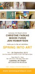 Spring into Art exhibition